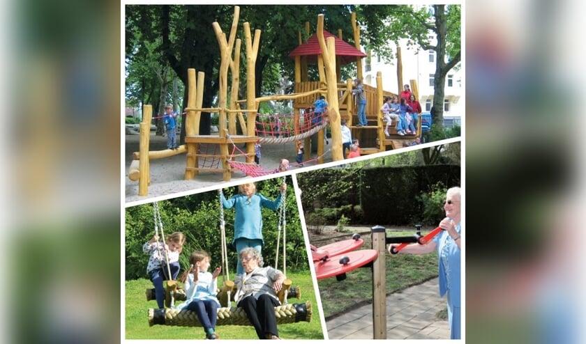 Speelplezier in de Beltrumse speeltuin. Foto: PR