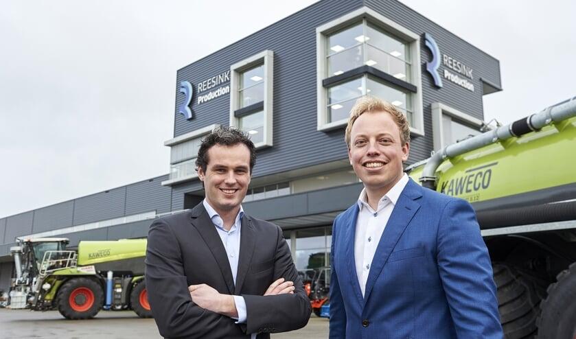 Patrik Roelofs (l.) en Rens Veenemen vormen tweekoppige aansturing van Reesink Production. Foto: PR