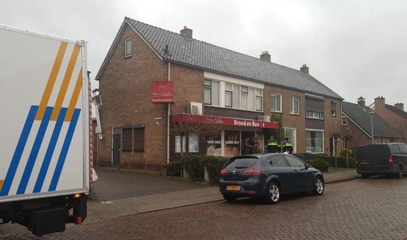 Bij een woning aan de Oranjestraat werd een hennepplantage aangetroffen.