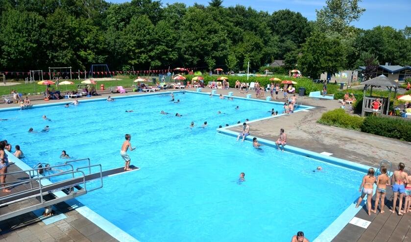 Zwembad De Boskoele zal in welke nieuwe vorm dan ook kleiner zijn dan nu. Foto: PR