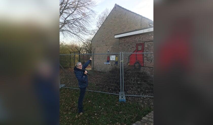 Waar gaan de vleermuizen van de Ludgerusschool straks naar toe?, vraagt Ria van Esveld zich af.
