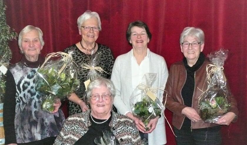 Jubilarissen van Vrouwen van Nu. Foto: Christiane Bolli