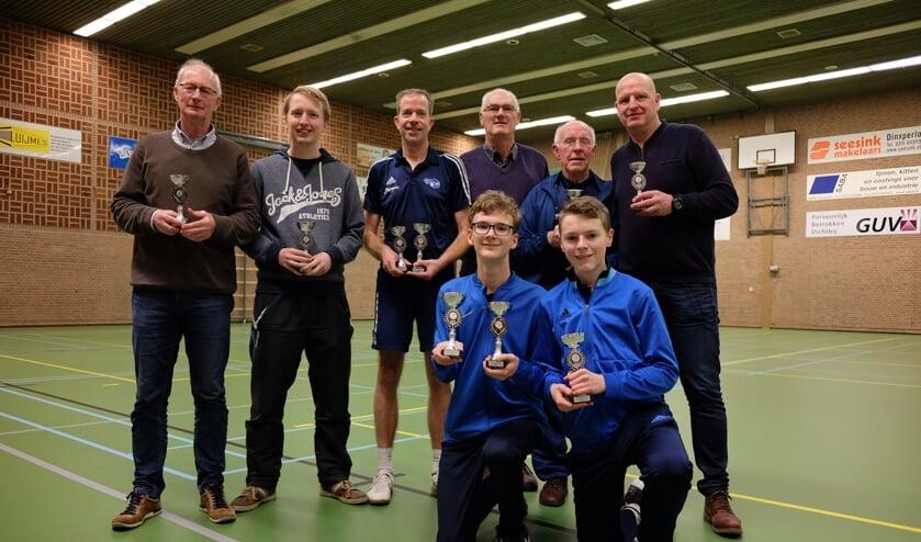 Litac won maar liefst zeven bekers op het dynamic tennistoernooi in Dinxperlo.