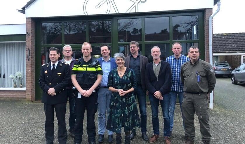 Ondertekenaars Intentieverklaring Keurmerk Veilig Buitengebied. Foto: PVO Oost-Nederland