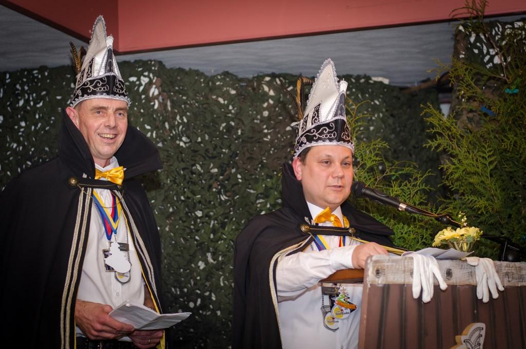 Adjudant Lange Pils en Prins Pluis, het prinsenpaar van 2019.  Foto: PR CV De Ketsmennekes © Achterhoek Nieuws b.v.