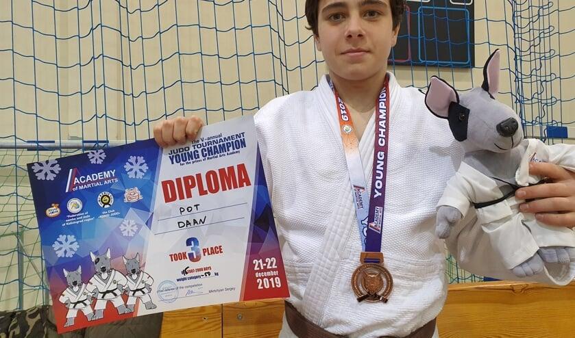 Daan Pot scoort in het Russische Kaliningrad een derde plaats bij de Young Champions. Foto: PR