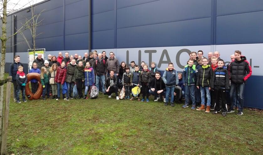 De Litaccers zetten zich ook dit jaar weer in voor de verenigingskas. Foto: PR