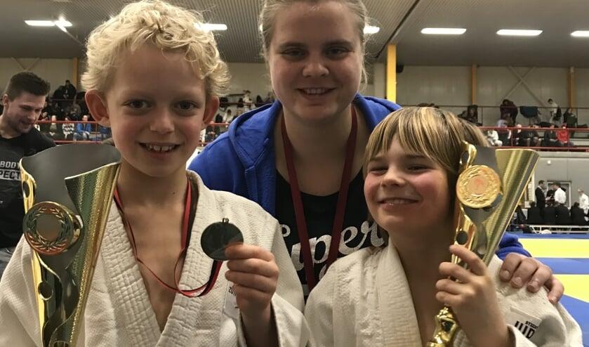 Aiden Samuels, Anne Kerkhoven, Camiel Bogaard. Foto: PR
