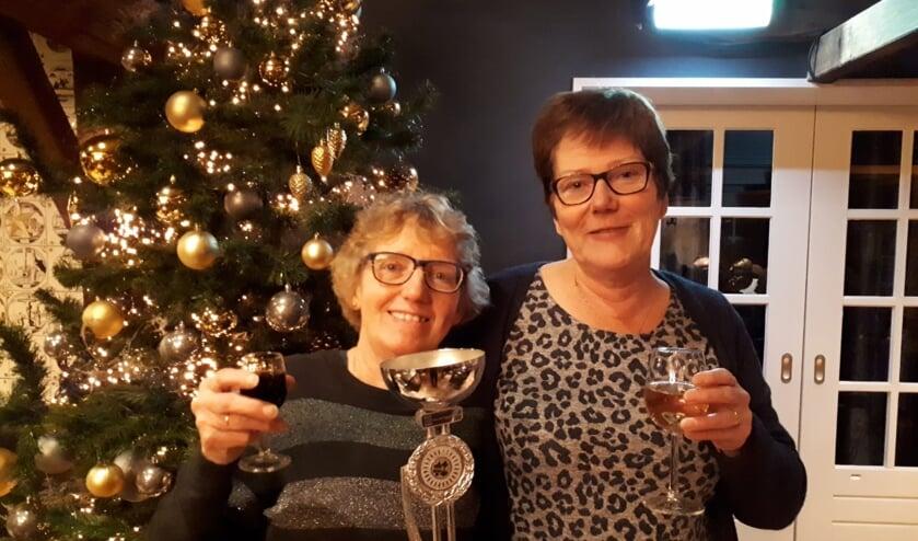 Maria ten Have (links) en Rita Overkamp.