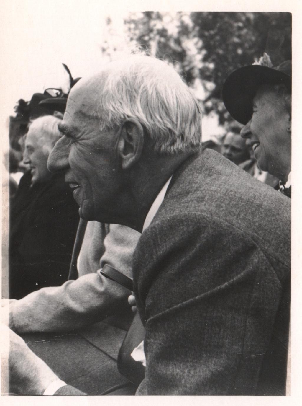 Dokter Paul van Bork rond 1950 Foto L.P. le Grand, collectie Erfgoedcentrum Zutphen. RAZ © Achterhoek Nieuws b.v.