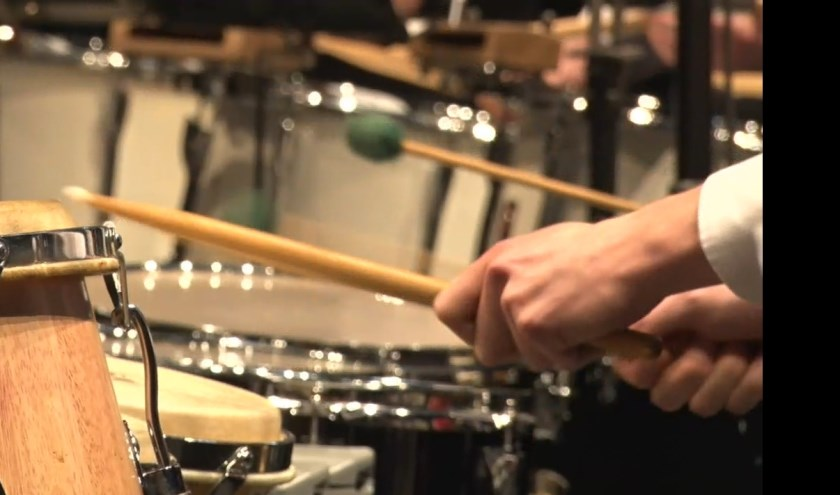 De Drumklas van Volharding is voor iedereen die wil kennismaken met slagwerk. Foto: PR