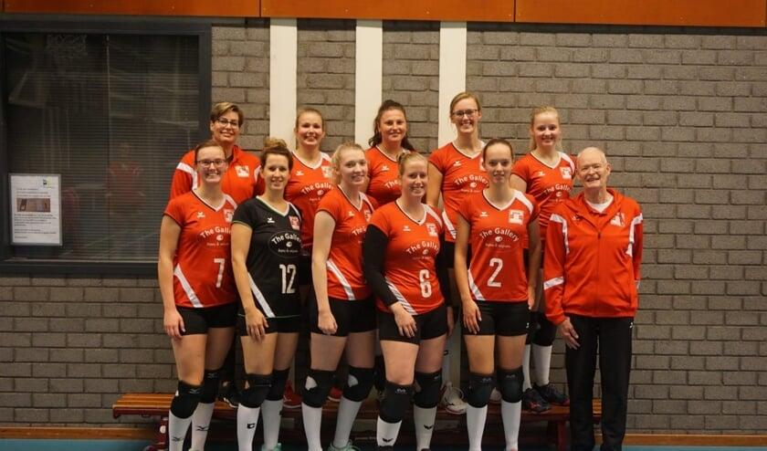Skopein Wivoc Dames 1 te sterk voor Heva VCV D2. Foto: PR