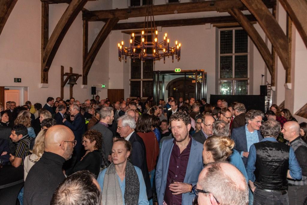Veel belangstelling voor de nieuwjaarsreceptie van de gemeente Zutphen. Foto: Henk Derksen  © Achterhoek Nieuws b.v.