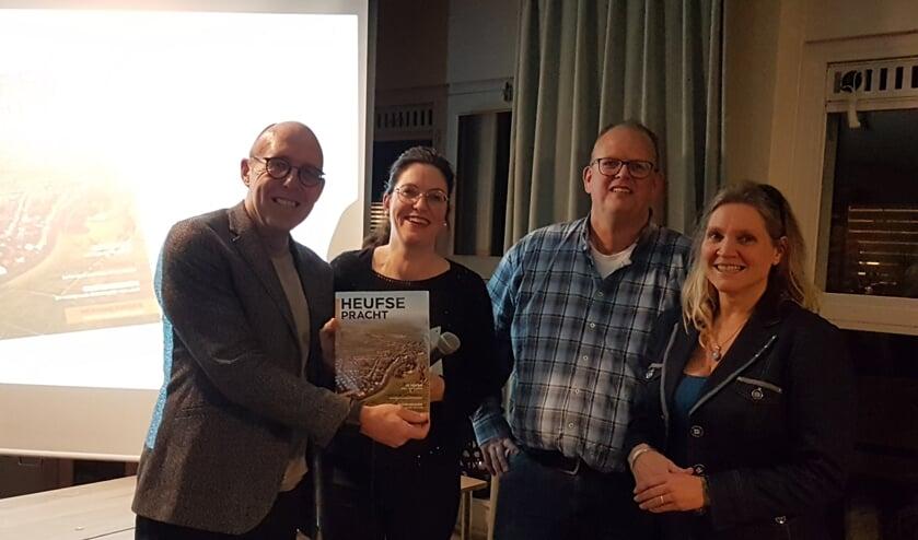 Harry Matser, Anja Horus, Eric van Schie en Isabell Verhoef. Foto: PR