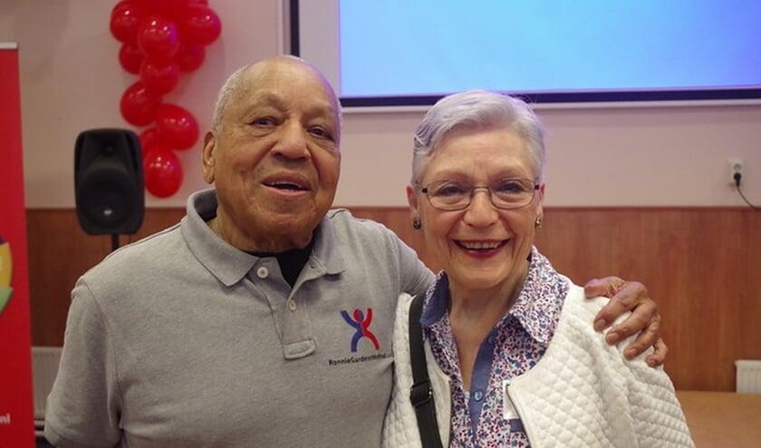Ronnie Gardiner en Annemarie Kamstra. Foto: PR