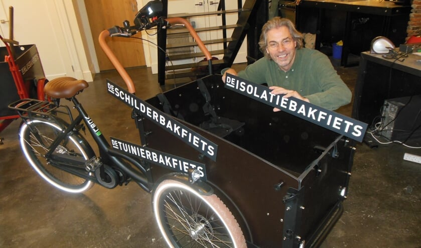 Martijn Ebbinge van De Klusbakfiets streeft met specialisatie naar meer kluskwaliteit. Foto: Eric Klop