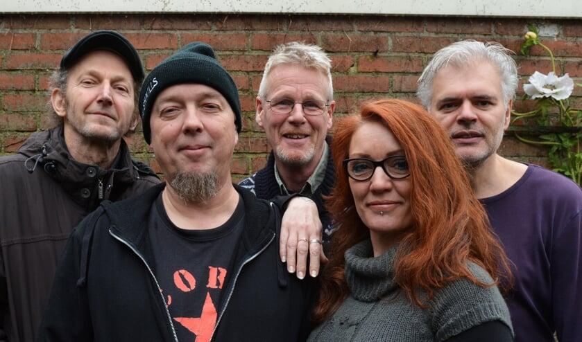De Noord-Hollandse folkband Mind the Midgie. Foto: PR