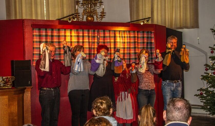 <p>Het poppenspel 'A Christmas Carol' wordt deze kerstdagen niet opgevoerd in Bronkhorst. Foto: Liesbeth Spaansen</p>