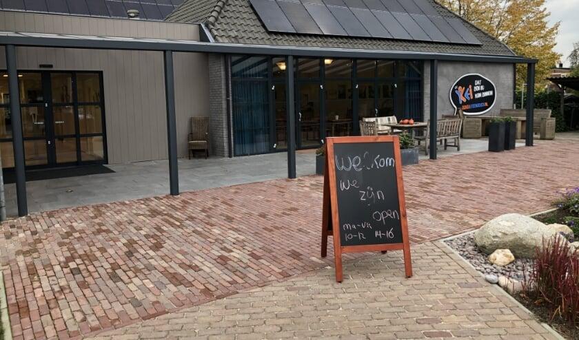 De Kei, geopend voor (korte) ontmoetingen en een luisterend oor. Foto: Geert Postma