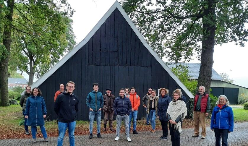 <p>De leden van de Werkgroep Dorpsvisie Meddo. PR Werkgroep Dorpsvisie Meddo</p>