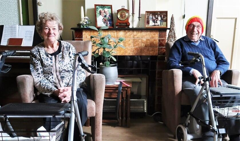 Het echtpaar Frans en Doortje Groot Zevert-Bleumink. Foto: Theo Huijskes