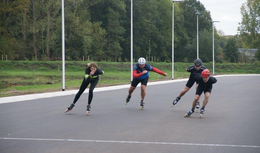 Vanaf 1 november kunnen de skeelerleden van de WIJV corona-proof gebruik maken van het nieuwe schaats- en skeelercomplex aan de Bataafseweg. Foto: PR WIJV