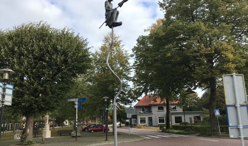 <p>Smoks Hanne staat centraal in de fietstocht rondom Zelhem. Foto: Mirjam Rensink</p>