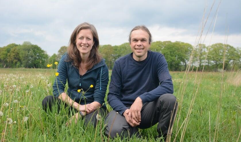 <p>Joanne Malotaux en Johannes Regelink zijn de initiatiefnemers van Burgerboerderij de Patrijs in Vorden. Foto: eigen foto</p>