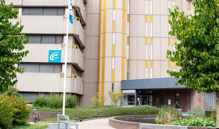<p>Het UWV-kantoor in Arnhem. Foto: stockfoto</p>