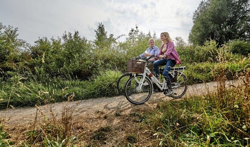 <p>Er zijn drie verschillende fietsroutes beschikbaar. Foto: PR</p>