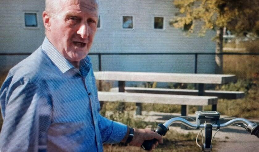 <p>Still uit de videofilm waarin de 80-jarige Hendrik Everink vertelt hoe het terrein er vroeger uit zag. PR</p>