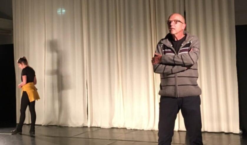 <p>Met mijn vader in bed - Dorst Theater. Foto: Sylvia Heijnen</p>