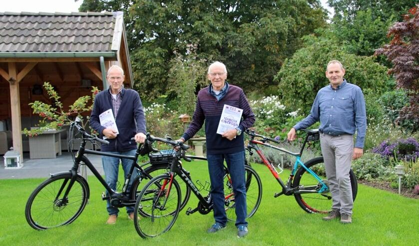 Van links af Bernard Boomkamp, Leo Sijtsma en Johan Voortman. Foto: Lydia ter Welle