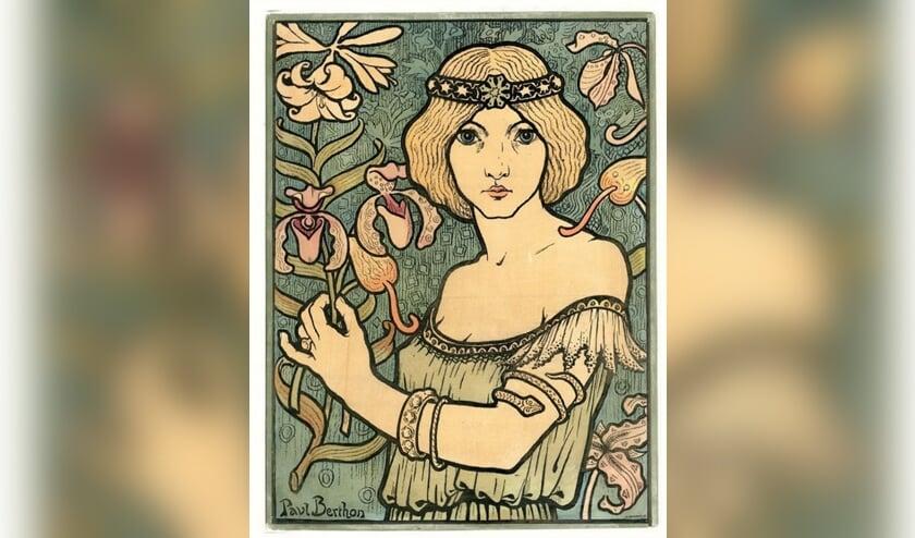 <p>De vrouw in de Art Nouveau. Foto: PR</p>