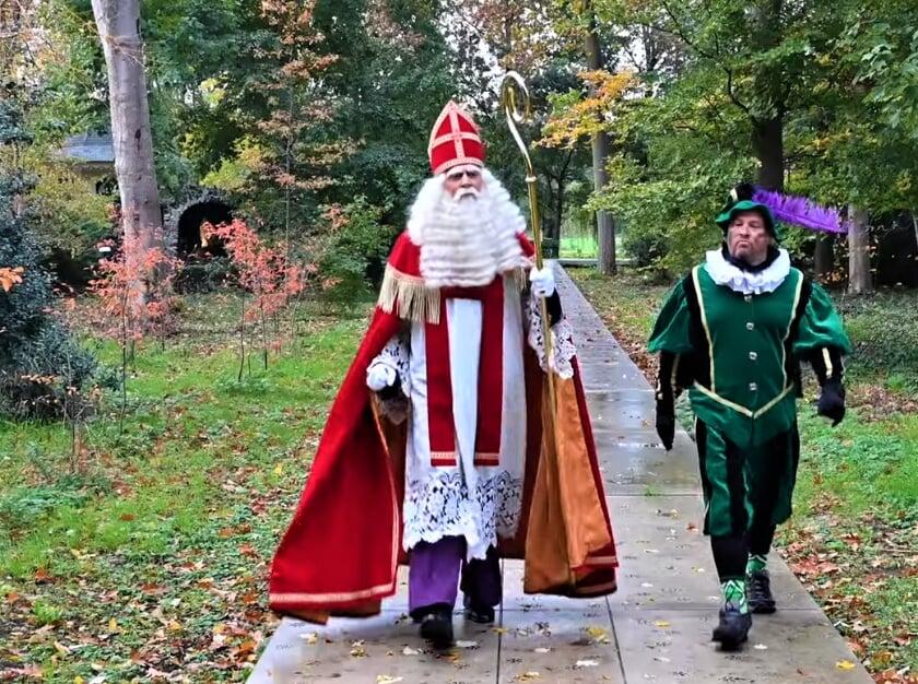 <p>Natuurlijk zijn Sint en Piet wel aangekomen in Aalten. Foto: PR</p>