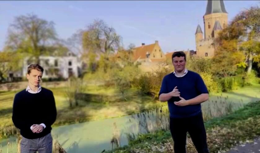 <p>Moos Janssen en Jorn Lok van de VVD. Foto: PR</p>