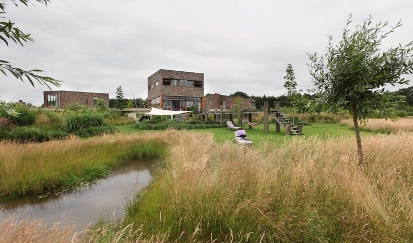 De genomineerde tuin op het landgoed van de familie De Vries. Foto: PR