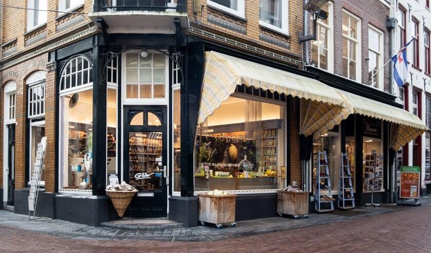 <p>Gezondheidsspeciaalzaak Binorm aan de Turfstraat in Zutphen. Foto: Nike Martens</p>