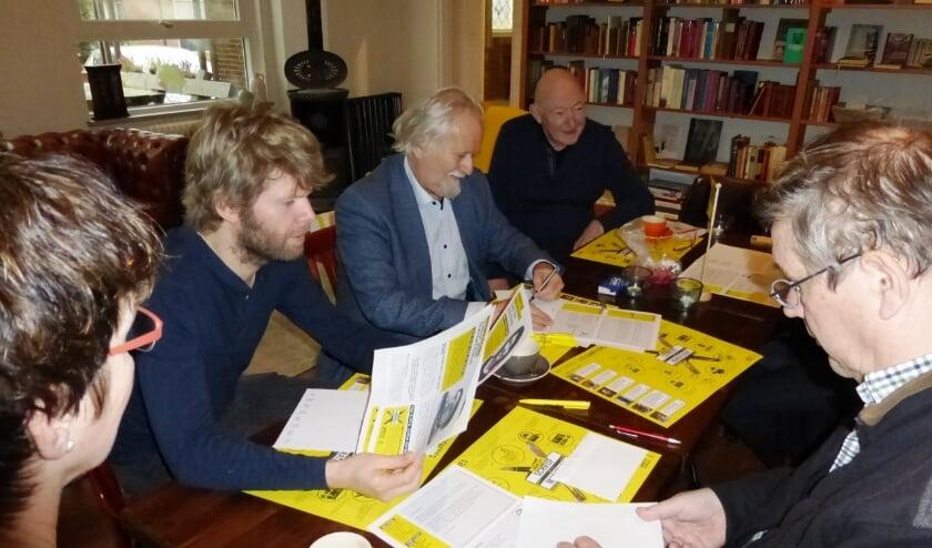 <p>Schrijven voor mensenrechten. Foto: Margo Molenaar</p>
