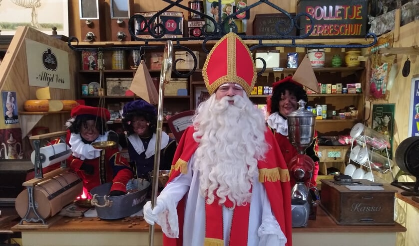 Sint heeft een videoboodschap voor alle Zelhemse kinderen. Foto: PR