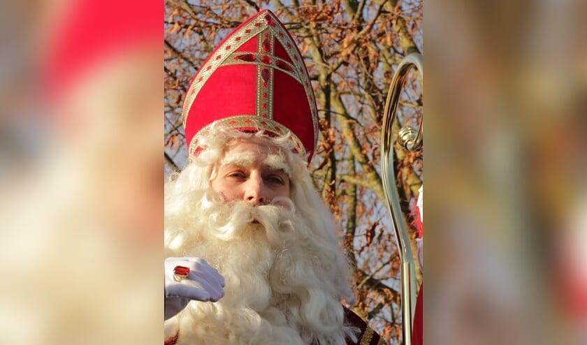 Sinterklaas komt naar Steenderen en zal de kinderen verwelkomen tijdens de drive-through Sint Safari. Foto: Achterhoekfoto.nl/Marja Sangers-Bijl