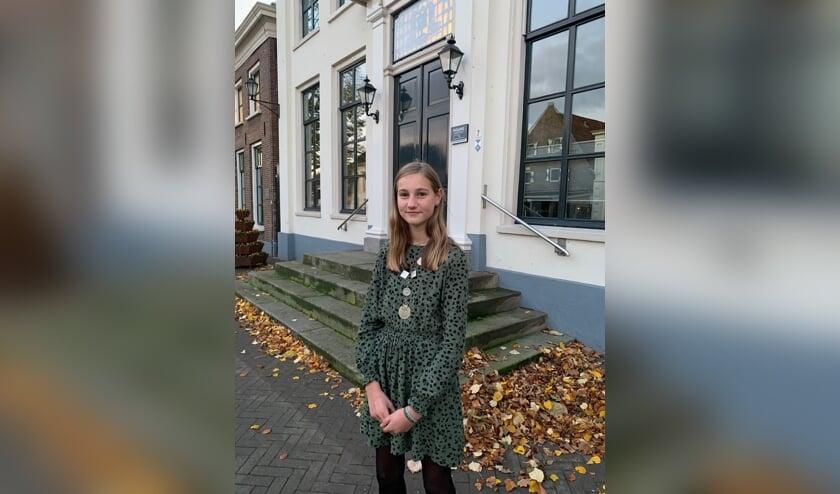 <p>Novin Mateman is de nieuwe kinderburgemeester. Foto: Communicatie gemeente Aalten</p>