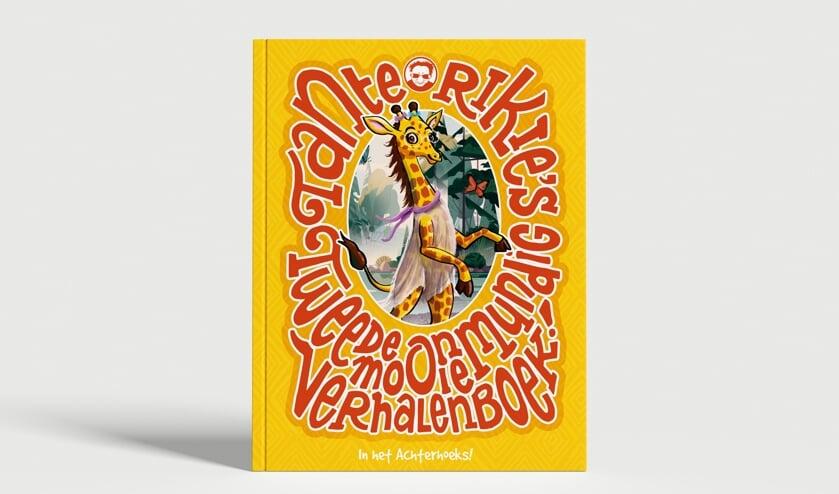 <p>De cover van Tante Rikie's tweede ommundig mooie verhalenboek. Afbeelding: PR</p>