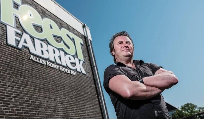 <p>Ronnie Degen bij Feestfabriek Alles Komt Goed B.V. Foto&#39;s: PR Zwarte Cross</p>