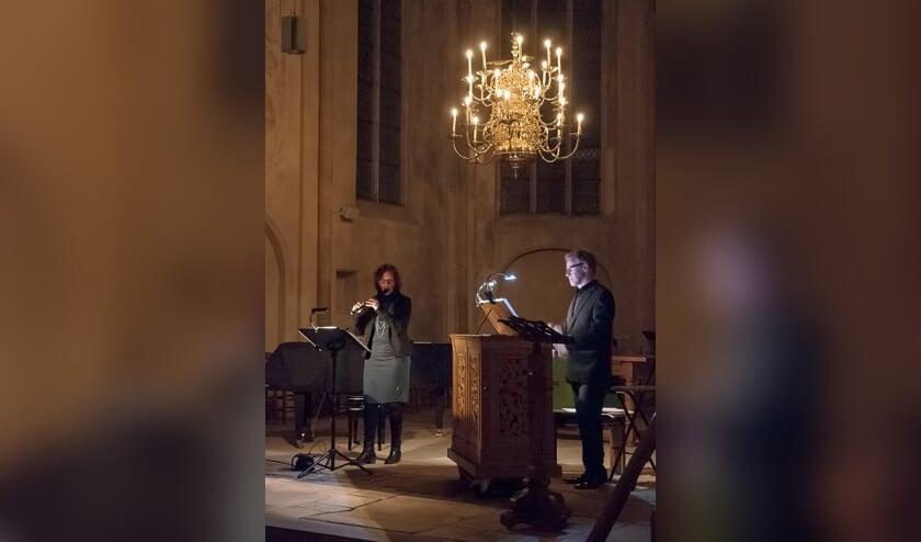 Hanne Feldhaus en Wim Ruessink. Foto: Marinus te Horst