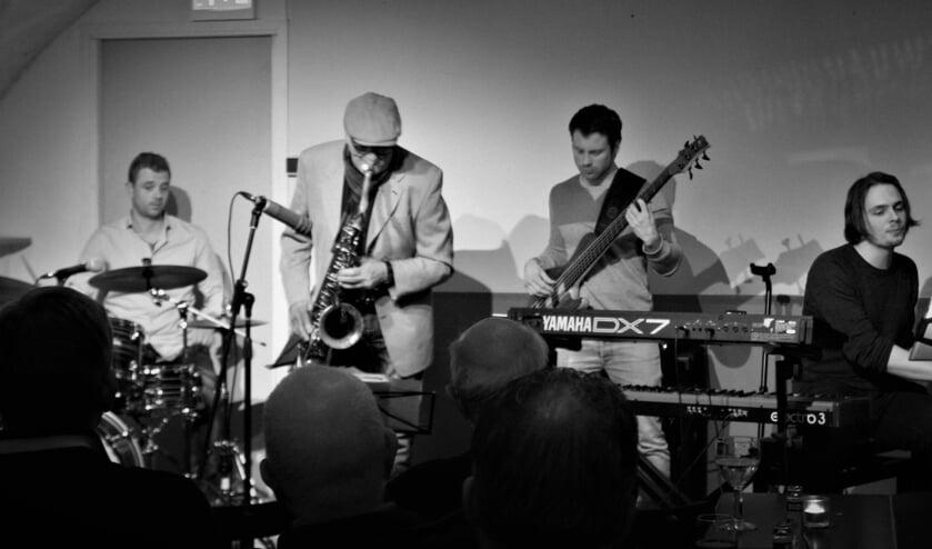 Het Vermuyen kwartet speelt bij It's Time for Jazz op 3 maart in Uffie's. Foto: PR