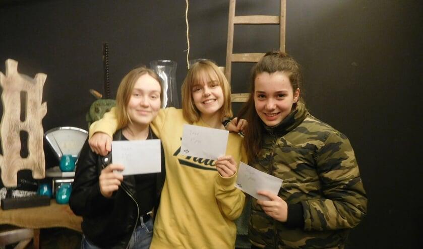 Noortje van der Aa, Emma Klein en Britt Geurkink. Foto: PR CSV