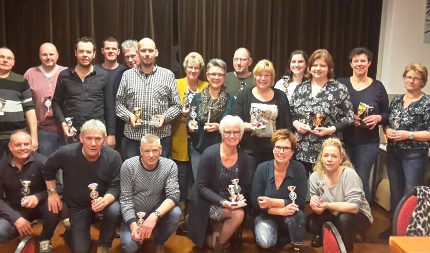 De winnaars van het boogschiettoernooi Veldhoek 2020. Foto: PR