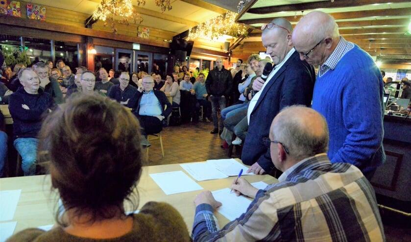 ZZC'20 is de uitkomst van de stemming bij leden vv Zelhem en zsv Zelos. Foto: PR