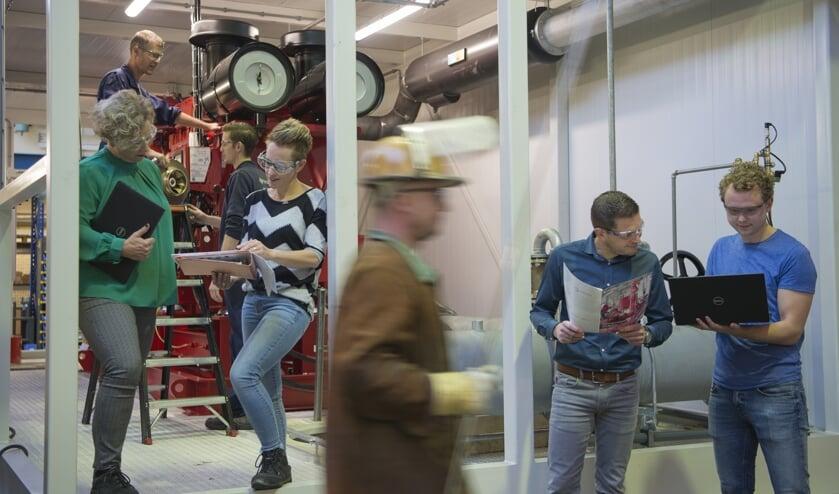 nder het motto 'Onze pompen maken wij samen' wil Pentair in Winterswijk laten zien dat zij een aantrekkelijke werkgever zijn voor technisch opgeleide werkzoekenden. Foto: PR Pentair